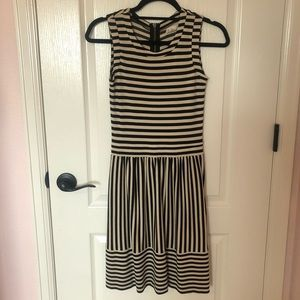 Hi Line/ Madewell Striped Dress